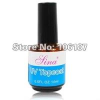 Best Selling  12pcs/LOT Nail UV TOPCOAT Nail Art Gel Acrylic Durable Finish NAIL TOP COAT