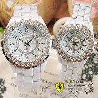 Diamond ring ceramic fashion lovers watch fashion vintage mens watch ladies watch