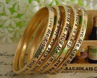 Free Ship! 20pcs/lot  Letters moral 5 mixed color wish bracelet &010