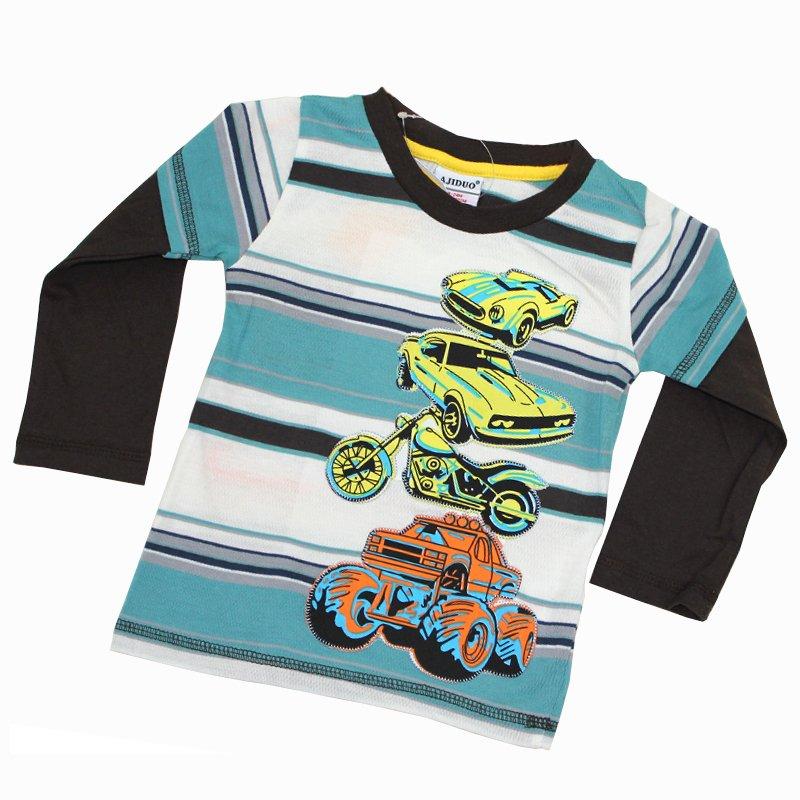 For Children Baby Boys Long Sleeve Shirts 1 6years Printed Carjpg