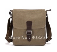 Free shipping!100% retro quality canvas man bag computer bag leisure Messenger bag