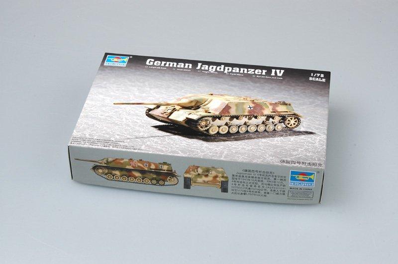 Trumpeter model 07262 1/72 German Jagdpanzer IV plastic model kit(China (Mainland))