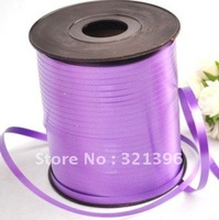 New Arrived! Free Shipping 500Yard/each roll 10unit/lot Curling Ribbon use Foil Balloon&Latex Balloon