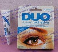 40PC/LOT DUO eyelash adhesive waterproof False eyelashes glue 9G Free shipping White and Black