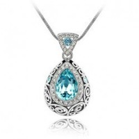 Necklace Quality Accessories Customize Noble Cuicanduomu Flowerier Crystal Necklace - 040
