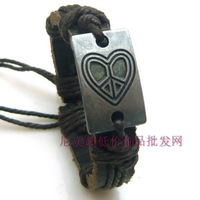 Bracelet fashion general genuine leather bracelet hand ring