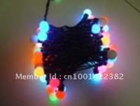 50 LED String Fariy Christmas Indoor or Outdoor IP65 Ball  Light 110v