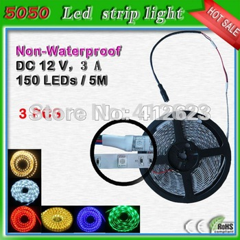 Free shipping 5050 RGB led strip lights _used street light poles