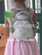 new arrival 2014 hot sale Children Backpack my neighbor TOTORO School bag Baby backpacks shoulder bags/plush doll toy best gift