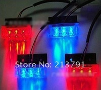 4x3 LED Strobe Flash Warning EMS Police Car Light Flashing Firemen Lights 4*3