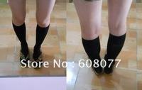Students middle socks knee socks black cosplay Japanese school uniform girl socks female cosplay