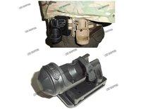Night Ops CF Flashlight Holder with Mod-U-Lok Attachment