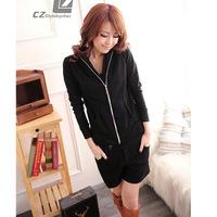 women's clothes fashion long-sleeve short design coat female sun protection clothing autumn outerwear