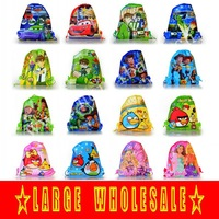 Рюкзак 1pcs 34*27cm new and fashion Non-woven Material Drawstring Backpack Bag Christmas gift-Winnie the Pooh