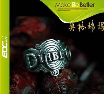 cool Personality Jewelry Diablo Nagel ring handcraft