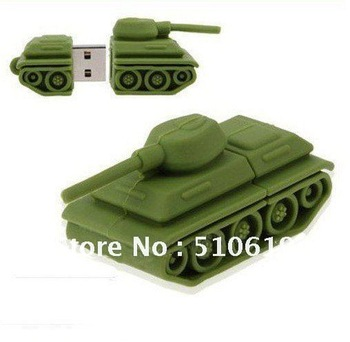 1/2/4/8/16/32/64 GB USB Flash drive  PC accessories Novelty best gift tank usb pen drive made of rubbe free shipping