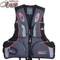 2013  customize life jacket grey multifunctional multi-pocket life vest