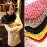 2012 small sphere pineapple scarf yarn muffler scarf color full