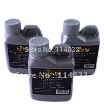 Big Discount! 10x/pack Acrylic Liquid Set False Acrylic Nail Art 120ml