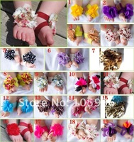 free shipping 2012 new design foot flower top baby shoes TOPBABY SHOES 20pair/lot top baby flowers shoes Feet accessories