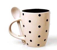 Whosale 50Pcs/lot Mug Ceramic Cup Lovely Mug Tea Coffee Mugs Gift High Quality Bone China