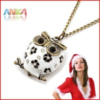 Free Shipping Wholesale Owl Necklace Owl Pendant Necklace Fahion jewelry #84410