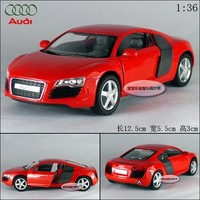 New AUDI R8 1:36 Alloy Diecast Car Model Toy Collection Red B109b