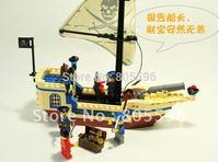 No 304 Pirates SeriesEnlighten Building Block Set 3D  Construction Brick Toys Educational Block toy for Children