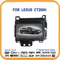 Car DVD GPS for LEXUS CT200h With Navigation GPS FM AM Audio video player Free Shipping & Gift(AC1366)