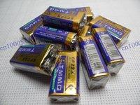 Wholesale Fifty 50 PCS 9V 6F22 9V Heavy Duty Batteries 0% Mercury battery