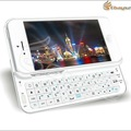 Free-shipping Sliding Wireless Bluetooth Keyboard Hard Shell Back Case Cover for iphone5 5G LF-1655