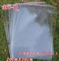 300PCS/LOT 20CM x 30 CM Transparent Opp Bag Packing Plastic Bags