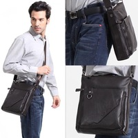 Hot selling genuine leather men's shoulder bag / Cowhide men's business and casual briefcase/ Free shipping