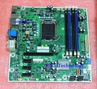Free Shipping For hp desktop motherboard 614494-001 612500-001,Iona GL8E MS-7613 H57,Socket 1156,DDR3,super deal!!!