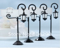 "Factory directly sale ""Bourbon Street"" streetlight  place card holder wedding place card holder"