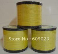 NEW 1pcs  1500YD 65LB Yellow Color 100% Spectra PE Braid fishing line