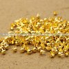 $1.99 Only 800pcs 3mm Gold Plated  Round Rivet Spike Stud Punk Leathercraft DIY Free Shipping Dropshipping  Punk Rivet(China (Mainland))