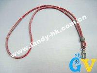 Alabama Crimson Tide Lanyard Titanium Sport Necklace for Keychain Holder, Badges, Whistles, 10pcs/lot, Free Shipping