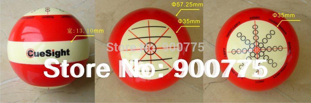 Billiard Training ball/Professional Design/Pool game/5.75cm CUE ball/Coach Bola /HS-Z01(China (Mainland))