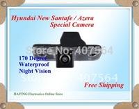 Free shipping Car rear view camera for HYUNDAI  santafe-Azera waterproof night version