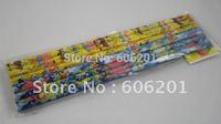 1 Lot  = 10Pcs SpongeBob Squarepants Cartoon Design Wooden Triangle Pencils,Free Shiipping !