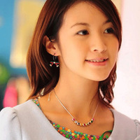 C907 seven color rainbow diamond crystal short design necklace chain necklace vintage female