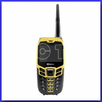 Free shipping Multi-function Outdoor Waterproof Sport Mobile Phone Walkie Talkie Compass  Dual sim card GPS GK3537