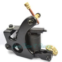 strong power 10 wrap Iron tattoo machine  newest design free shipping EC027