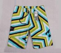 Retail 2014 classic adult male's best gift trouser bright star live shoot sport Short Beach Swim sweat wear +free drop shipping