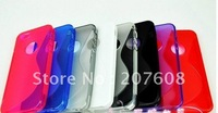 Line Soft TPU Gel Back Cover for iphone 5 400pcs/lot