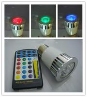 wholesale Led single lamp 5w remote control led rgb spotlights downlight colorful lights