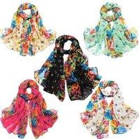 S5Y 2012 Hot Sale New Style Fashion Ladies/Women's Long Large Soft Shawl Wrap Scrafs