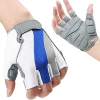 S5Y NEW Cycling Bike Bicycle Gel Silicone Antiskid Half Finger Gloves Size XL L