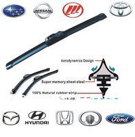 Wholesale!Car Wiper Blade,Natural Rubber Car Wiper,Car Accessory/auto soft windshield wiper 2 size choice 14-26in Free Shipping